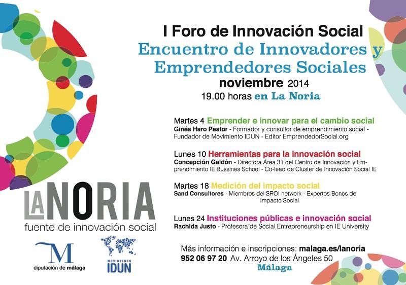 1r foro innovacion social def